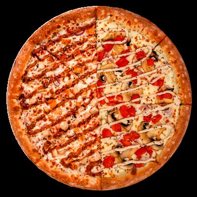 Пицца-половинки